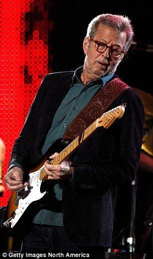 Eric Clapton in 2015