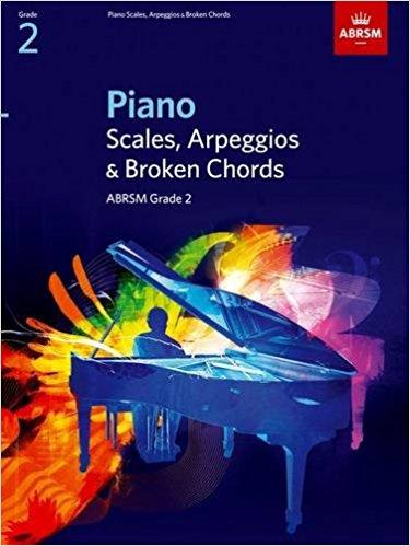 ABRSM Grade 2 Piano Scales, Arpeggios & Broken Chords