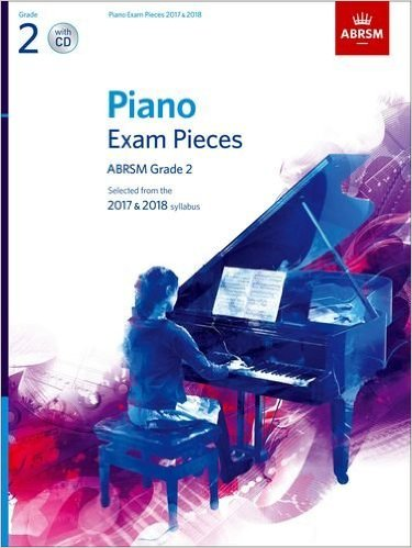 ABRSM Piano Exam Pieces 2017 & 2018 Book Grade 2