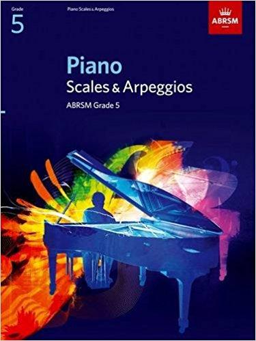 ABRSM Grade 5 Piano Scales & Arpeggios