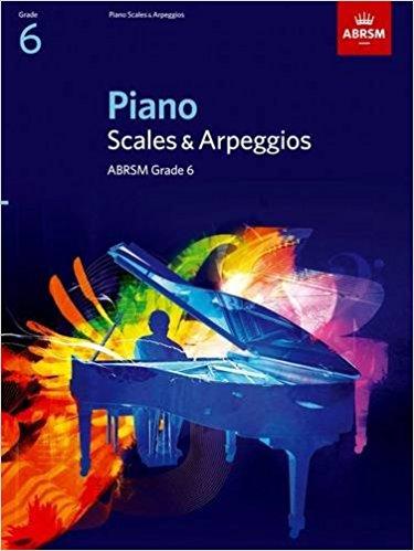 ABRSM Grade 6 Piano Scales & Arpeggios