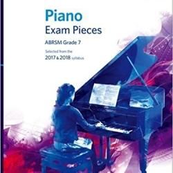 英國皇家 2017-2018 鋼琴考試指定曲 第7級 ABRSM Piano Exam Pieces 2017 & 2018 Grade 7