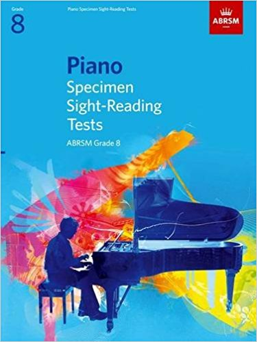 ABRSM Grade 8 Piano Specimen Sight Reading Test