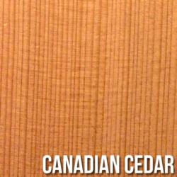 紅/雪松木面板