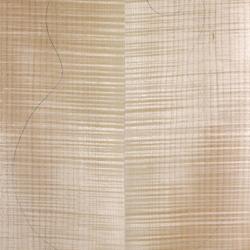 楓木側背板